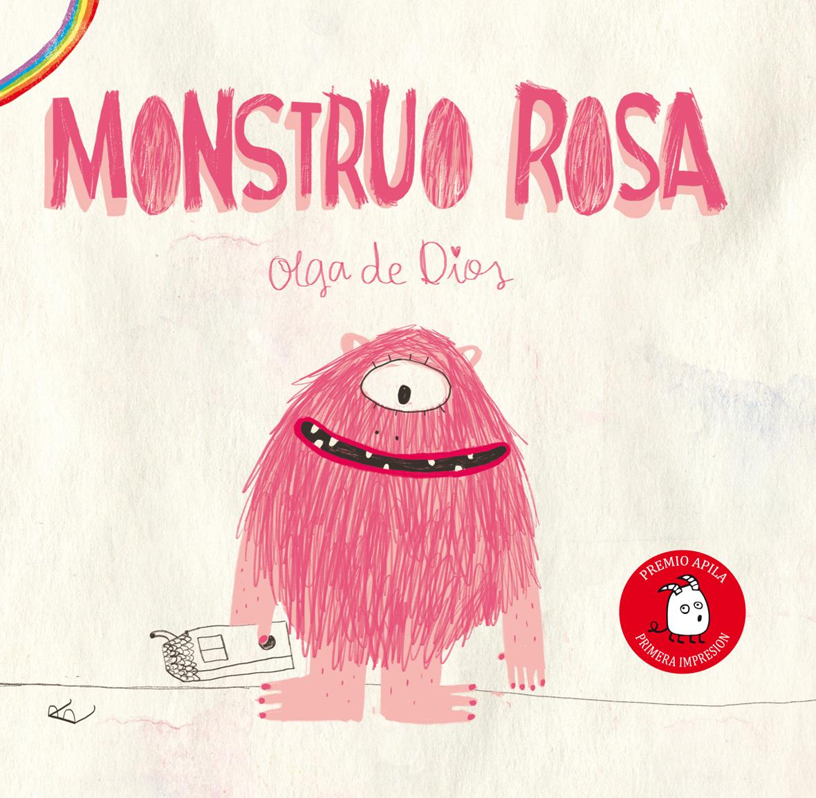 Resultado de imagen de monstruo rosa