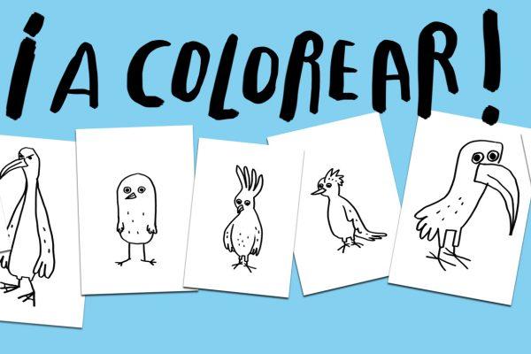 ¡A colorear!