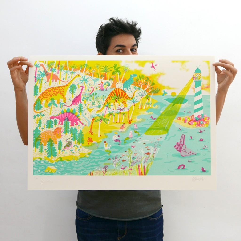 olga de dios, leotolda, obra grafica, swinton gallery