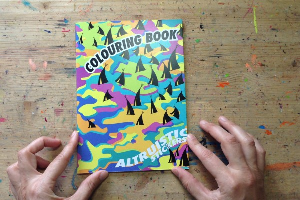 Altruistic Colouring Book