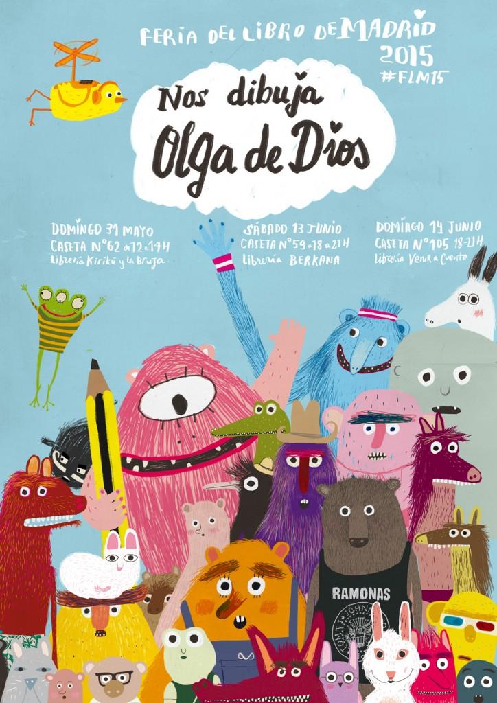firmas Olga de Dios FLM2015