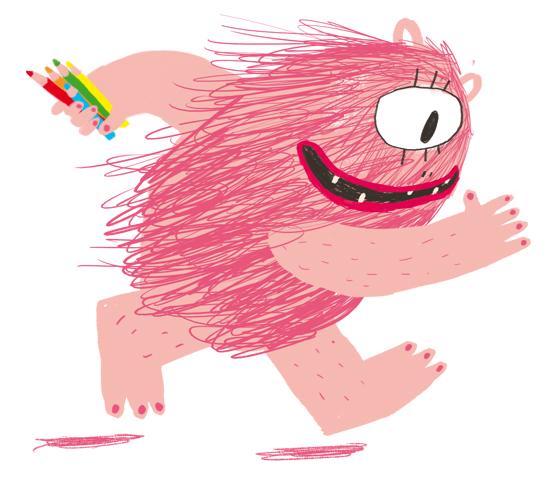 Taller d'il·lustració amb el Monstre Rosa. BARCELONA